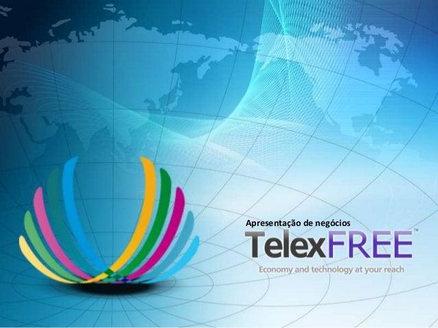 Apresentação de negócios - Telexfree