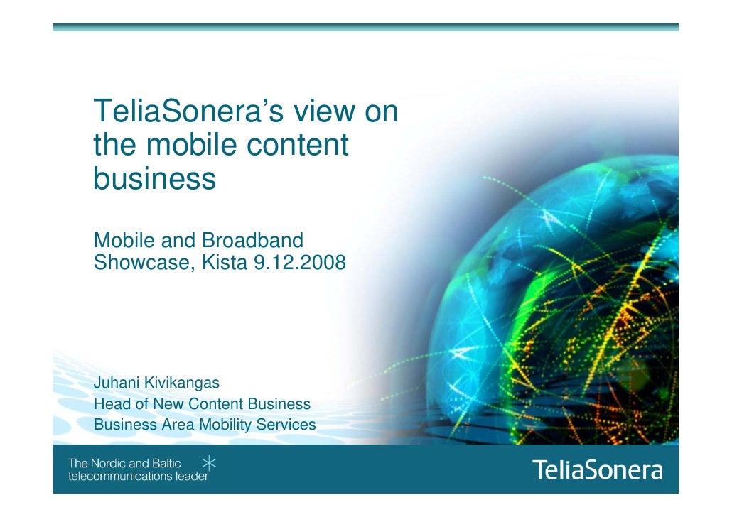 Telia Sonera Mobile Content Kmbs122009