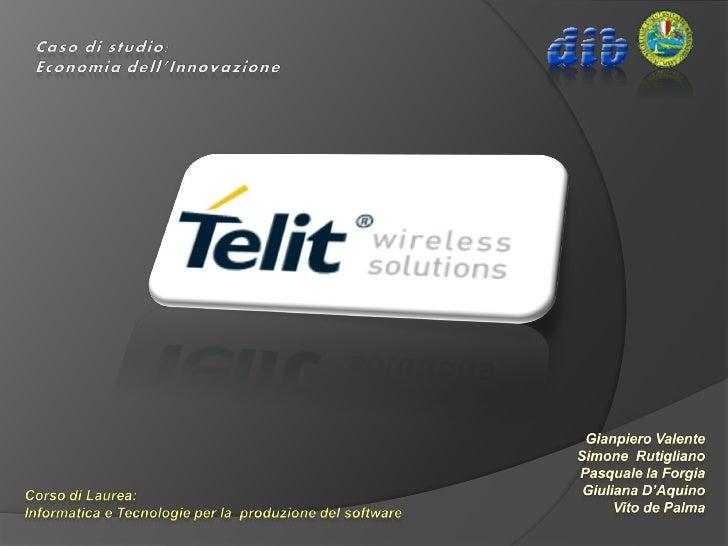 TELIT è un'azienda internazionale specializzata nelle tecnologie wireless che sviluppa, produce e commercializza moduli di...