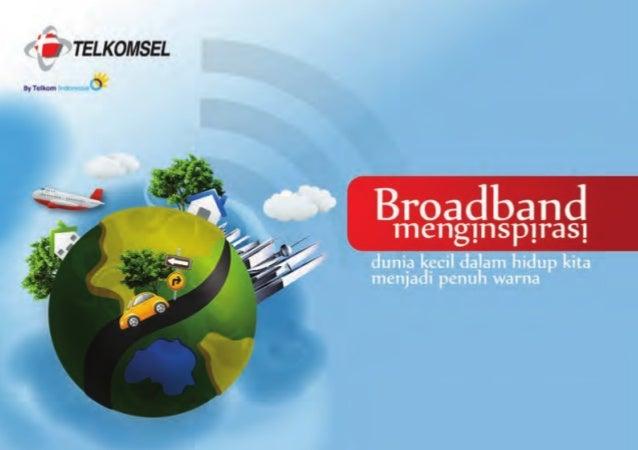 Broadband Booklet by Telkomsel