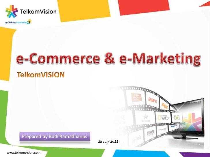 An Intro e-Commerce & e-Marketing