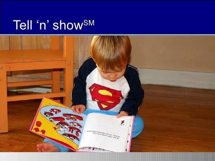 The Tell 'n' Show(SM) presentation method