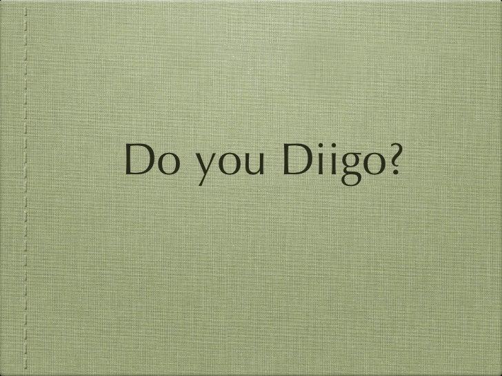 Do You Diigo?