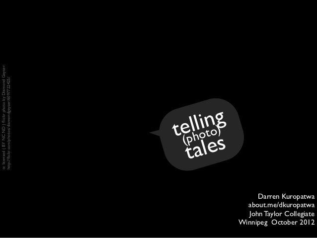 Telling Photo Tales v3
