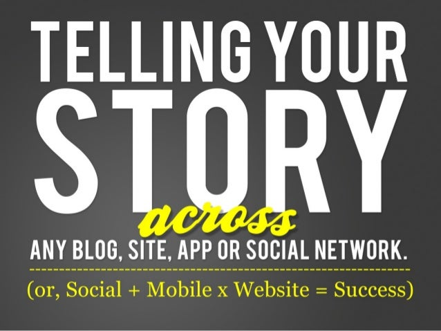 Telling Your Story With Interactive Marketing