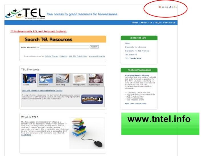 TEL Presentation