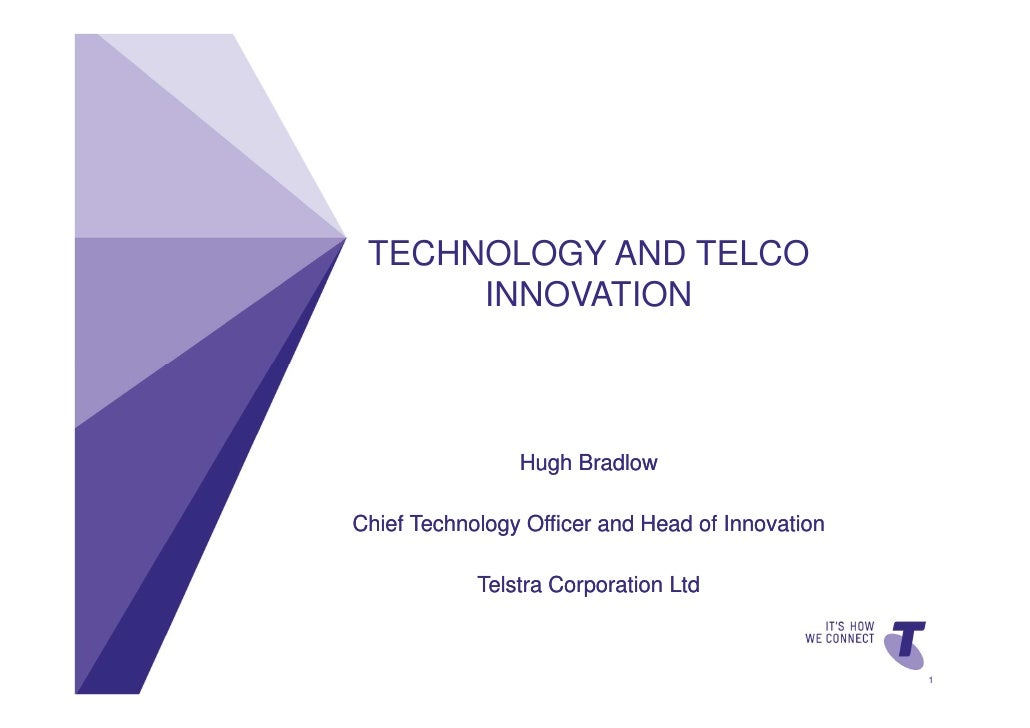 TECHNOLOGY AND TELCO                                                  INNOVATION                                          ...
