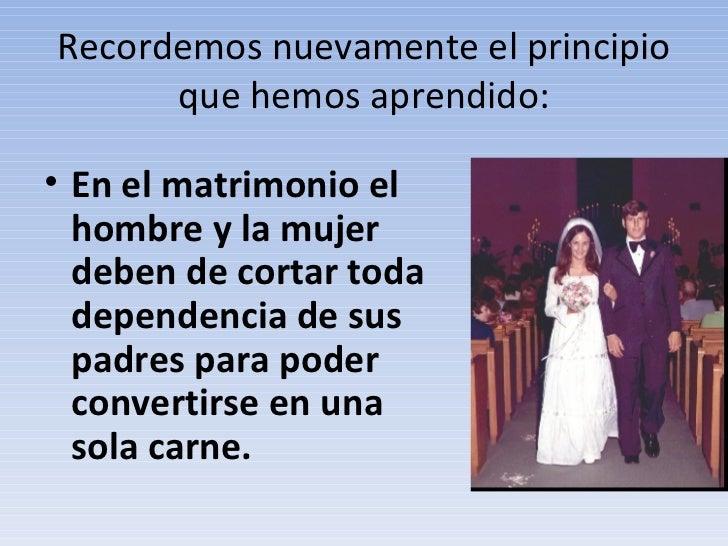 Biblia Matrimonio Hombre Y Mujer : Tema dejaras a tu padre y madre te uniras mujer