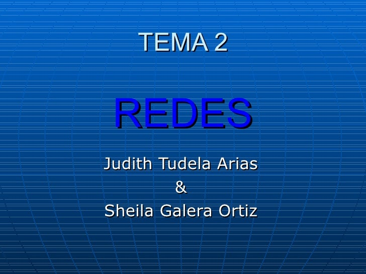 Tema 2  Judith &  Sheila