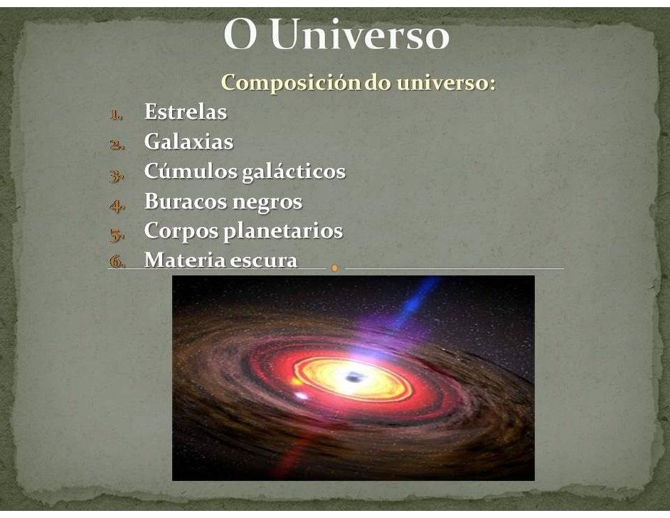 Tema 3.O Universo