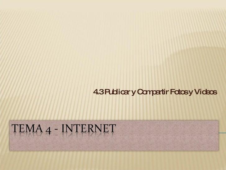 Tema 4   Internet