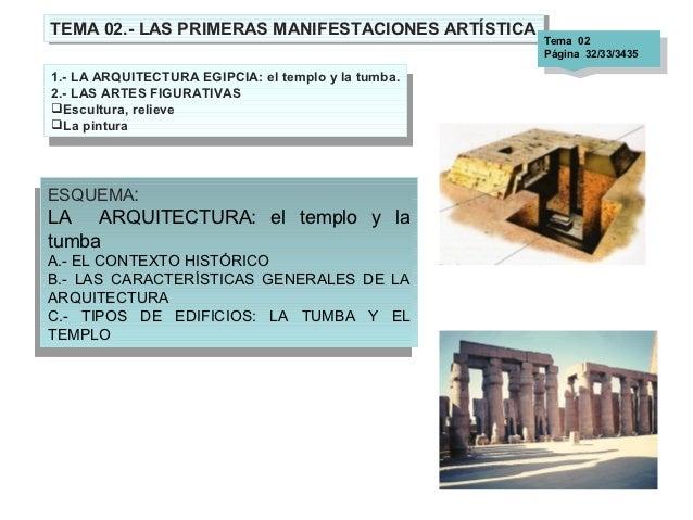 TEMA 02.- LAS PRIMERAS MANIFESTACIONES ARTÍSTICA TEMA 02.- LAS PRIMERAS MANIFESTACIONES ARTÍSTICA Tema       02           ...