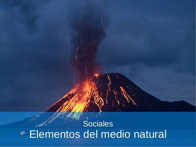 Tema 02   elementos del medio natural