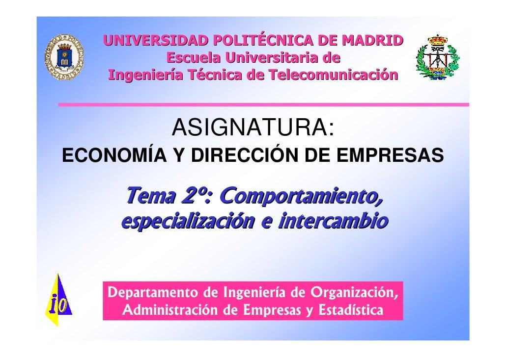 UNIVERSIDAD POLITÉCNICA DE MADRID          Escuela Universitaria de   Ingeniería Técnica de Telecomunicación            AS...
