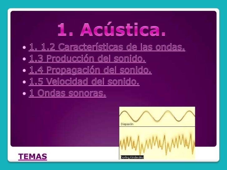1.1 Ondas sonoras   Son ondas longitudinales u ondas de comprensión.  Las ondas sonoras al moverse a través del aire que n...