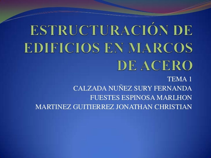 TEMA 1         CALZADA NUÑEZ SURY FERNANDA             FUESTES ESPINOSA MARLHONMARTINEZ GUITIERREZ JONATHAN CHRISTIAN