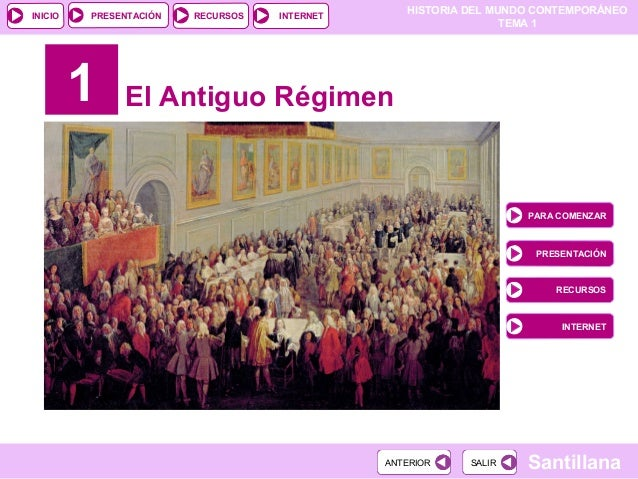 Tema 1: El Antiguo Régimen
