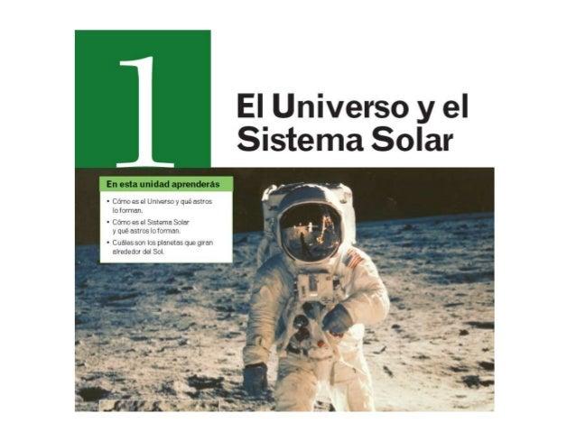 Tema 1  El Universo y el Sistema Solar