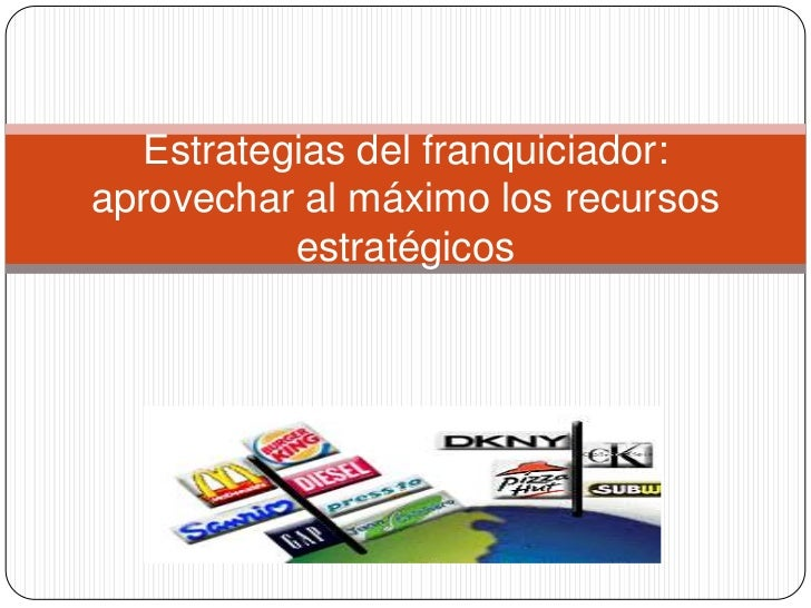 Tema 1.1  partes y conceptos franchisor strategy and firm performance 24 slides