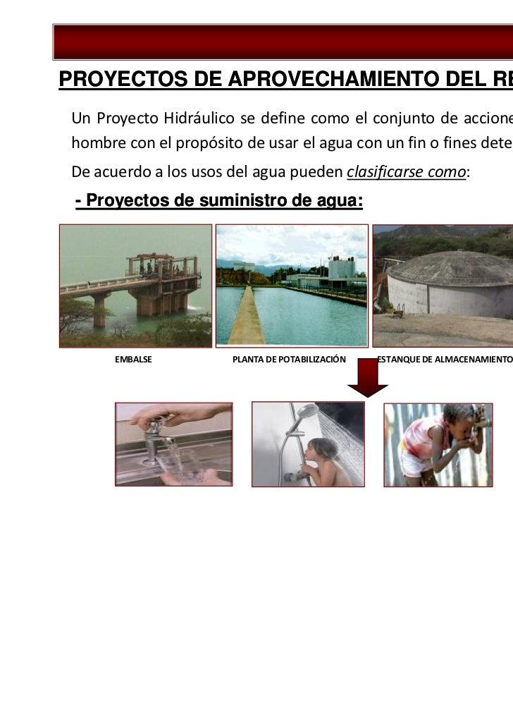 Tema 1.4 proyectos hidráulicos de aprovechamiento del recurso agua