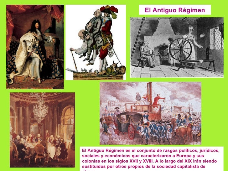 Tema 1. el antiguo régimen.