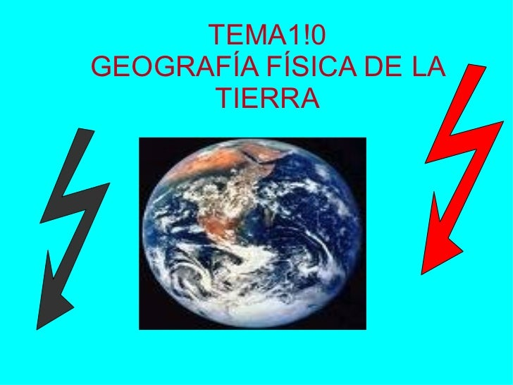 Tema 10   GeografíA FíSica De La Tierra   6º