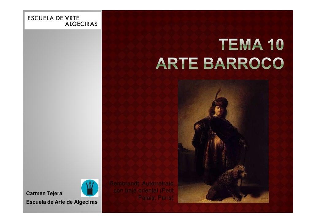 Tema 10a barroco características generales