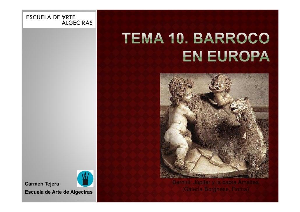 Tema 10b barroco en europa