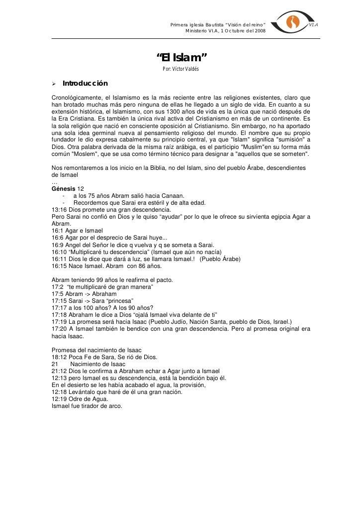 Tema 10 - El Islam
