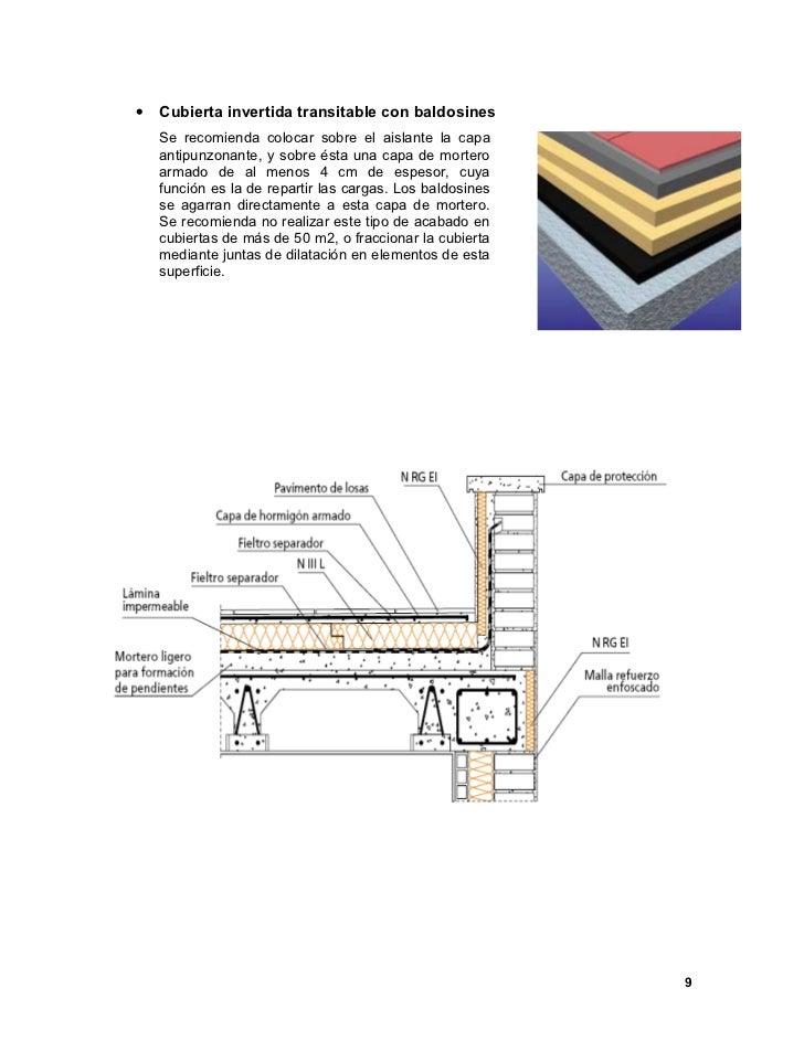 Cubiertas planas - Tipos de impermeabilizacion ...
