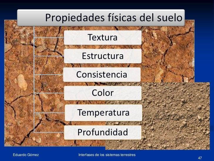 Tema11 el suelo propiedades 1 for Caracteristicas de los suelos