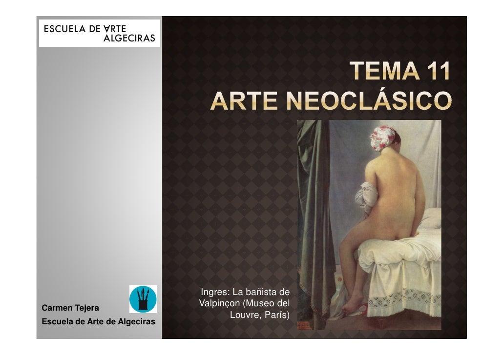 Tema 11 neoclásico