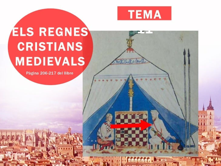 ELS REGNES CRISTIANS MEDIEVALS Pàgina 206-217 del llibre TEMA 11