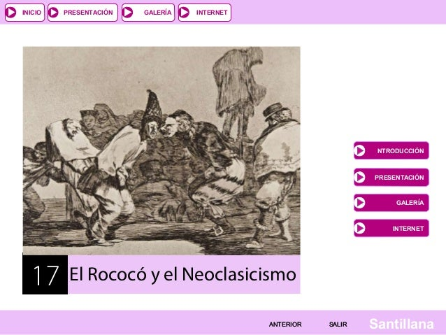historia del arte rococo y neoclasico