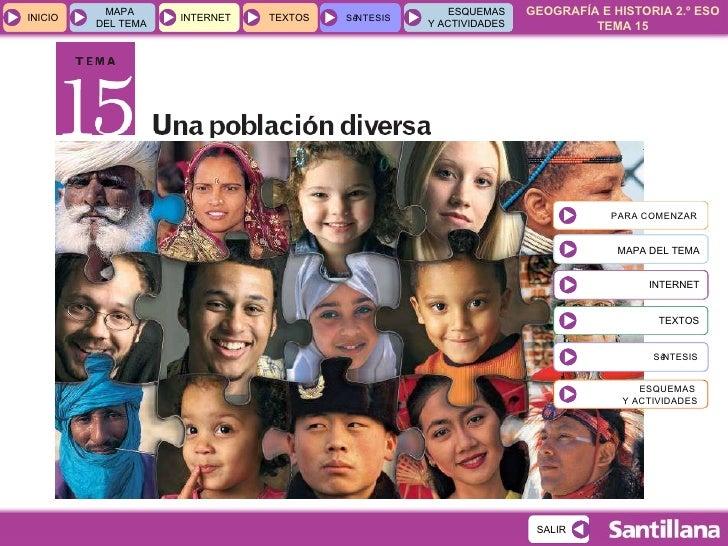 Tema 15 Una Población Diversa
