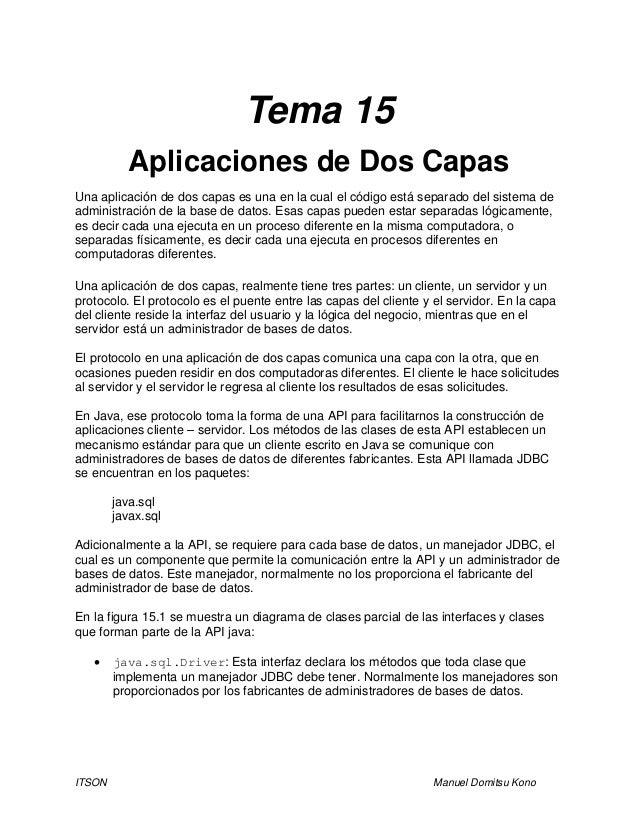 Tema 15   aplicaciones de dos capas por gio