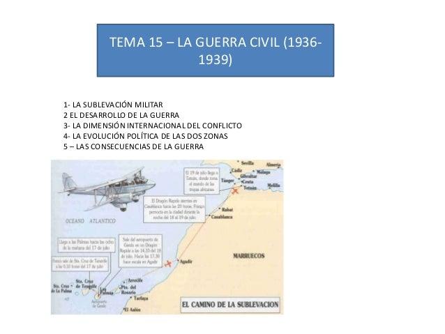 Tema 15 la guerra civil
