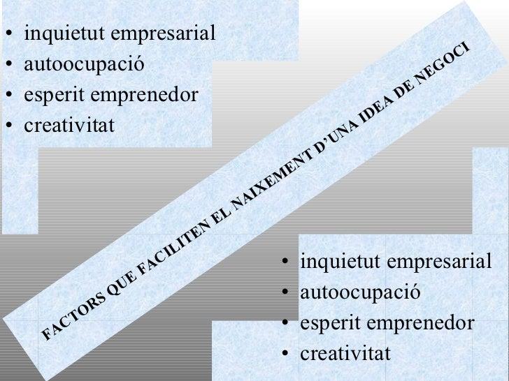 •   inquietut empresarial                                                                                 CI•   autoocupac...