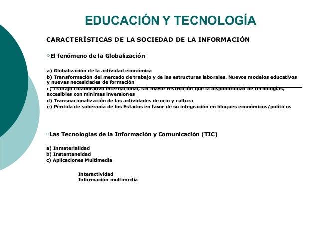 Tema 1 educación y tecnología
