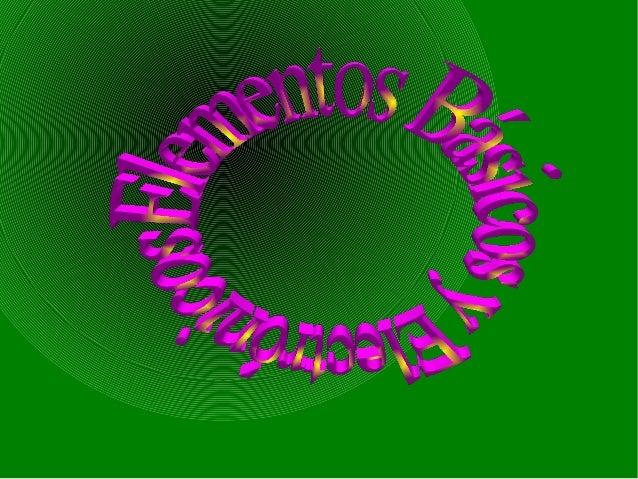 1.Conceptos de electricidad  1.Conceptos de electricidad.  -La corriente eléctrica, es un movimiento de cargas  (electrone...