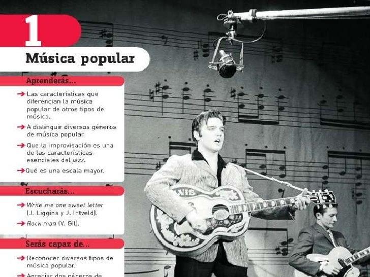 Tema 1 la música popular