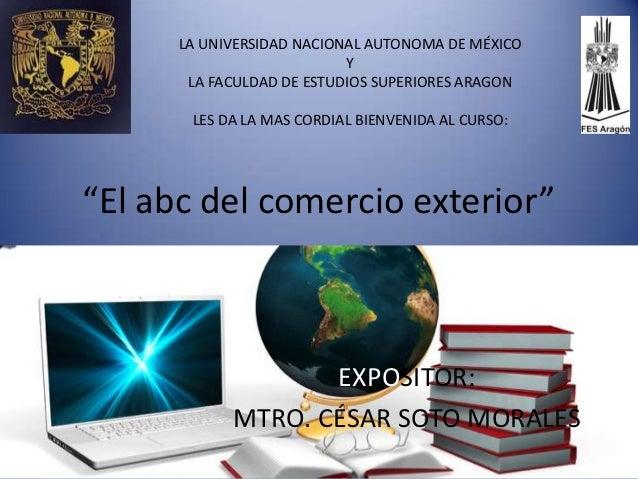 LA UNIVERSIDAD NACIONAL AUTONOMA DE MÉXICO                           Y       LA FACULDAD DE ESTUDIOS SUPERIORES ARAGON    ...