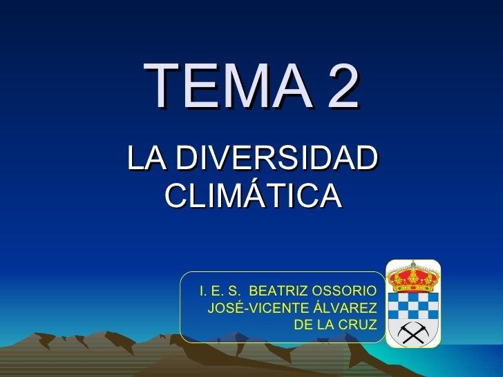 Tema 2   la diversidad climática