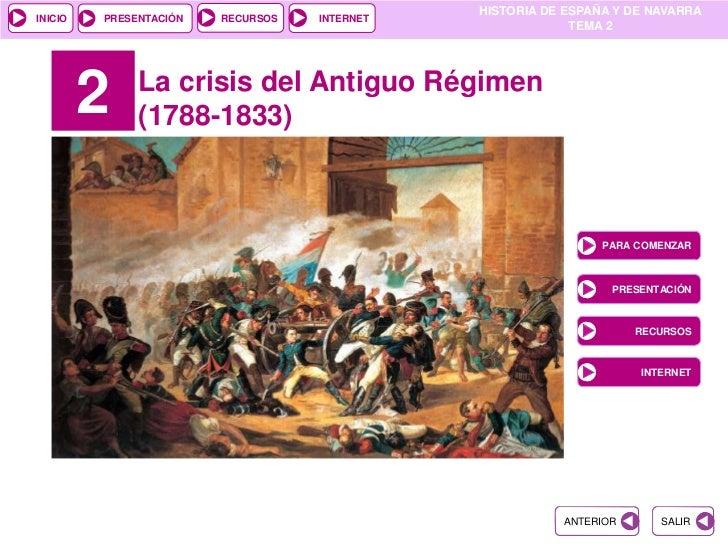 HISTORIA DE ESPAÑA Y DE NAVARRAINICIO   PRESENTACIÓN   RECURSOS   INTERNET                                                ...