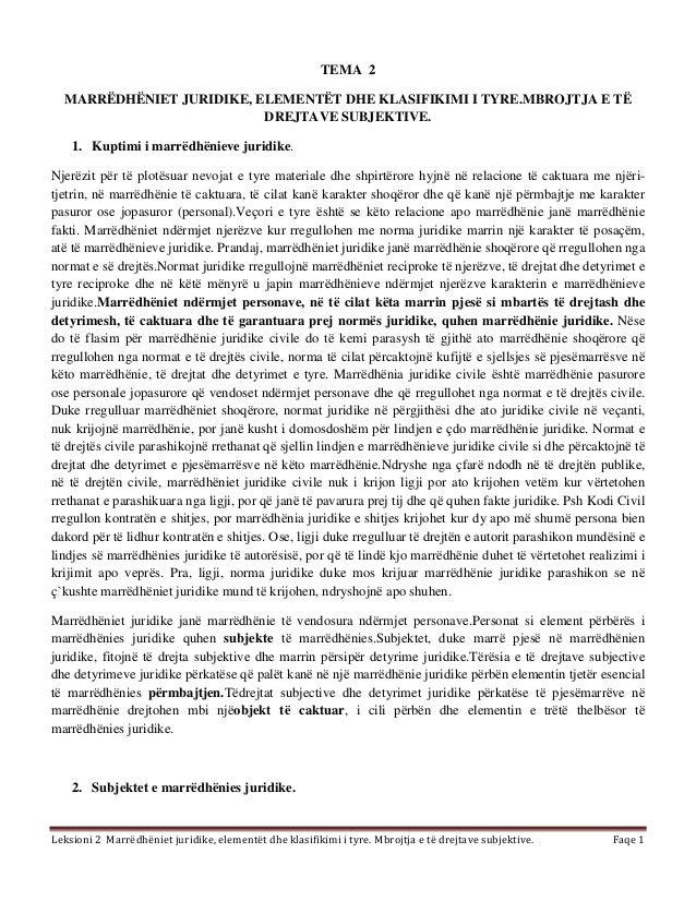 Tema 2 e drejta e biznesit