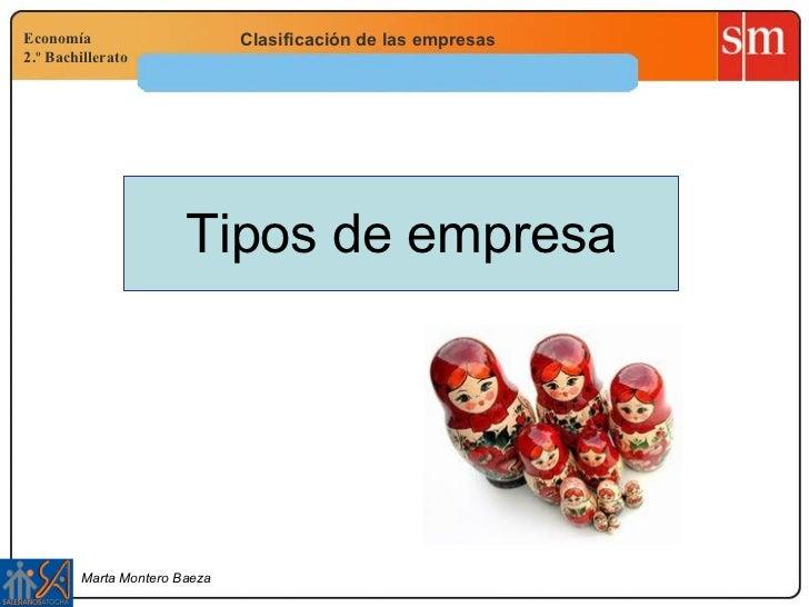 Tipos De Empresa