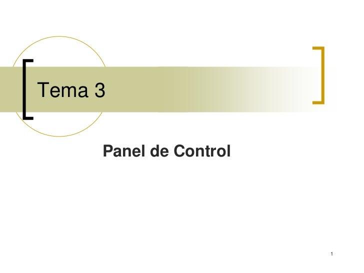 Microsoft Windows Tema 3