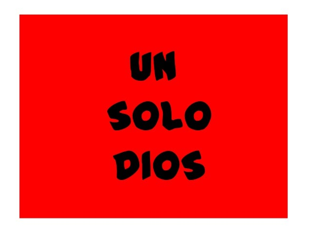UNSOLODIOS