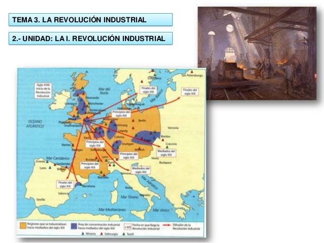 TEMA 3. LA REVOLUCIÓN INDUSTRIAL  2.- UNIDAD: LA I. REVOLUCIÓN INDUSTRIAL