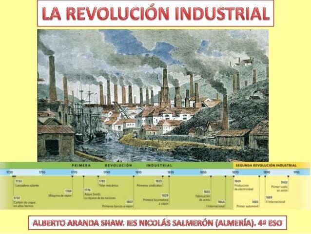 Tema 3.  la revolución industrial
